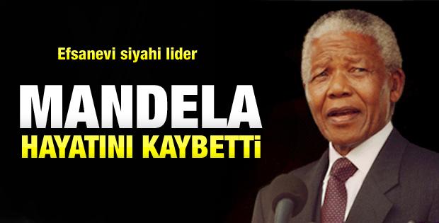 Nelson Mandela Öldü