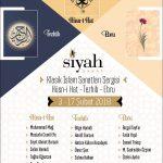Klasik İslam Sanatları Hüsn-i Hat – Tezhib – Ebru Sergisi
