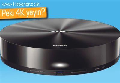 Sony'den 4k Televizyonlar ve Medya Oynatıcı Fiyatları
