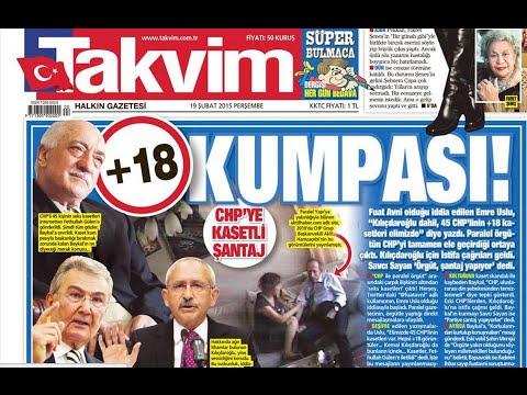 AKP Kaset ve Şantaj İftiraları