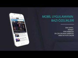 Haber sitesi mobil uygulaması