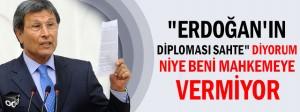 Yusuf Halaçoğlu: Cumhurbaşkanı Erdoğan'ın diploması sahte