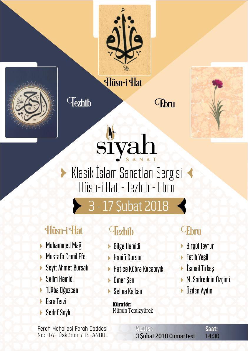 Klasik İslam Sanatları Sergisi